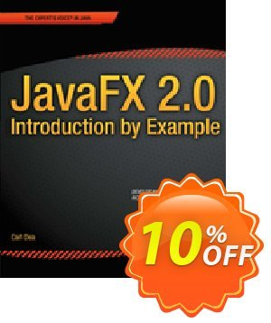 JavaFX 2.0: Introduction by Example (Dea) discount coupon JavaFX 2.0: Introduction by Example (Dea) Deal - JavaFX 2.0: Introduction by Example (Dea) Exclusive Easter Sale offer for iVoicesoft