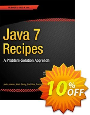 Java 7 Recipes (Juneau) discount coupon Java 7 Recipes (Juneau) Deal - Java 7 Recipes (Juneau) Exclusive Easter Sale offer for iVoicesoft