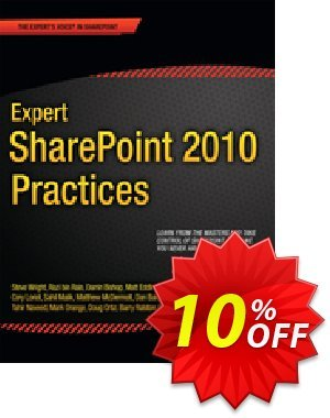 Expert SharePoint 2010 Practices (LLC) discount coupon Expert SharePoint 2010 Practices (LLC) Deal - Expert SharePoint 2010 Practices (LLC) Exclusive Easter Sale offer for iVoicesoft