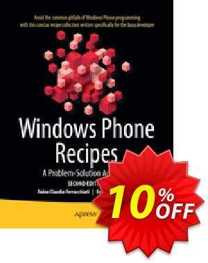 Windows Phone Recipes (Ferracchiati) discount coupon Windows Phone Recipes (Ferracchiati) Deal - Windows Phone Recipes (Ferracchiati) Exclusive Easter Sale offer for iVoicesoft