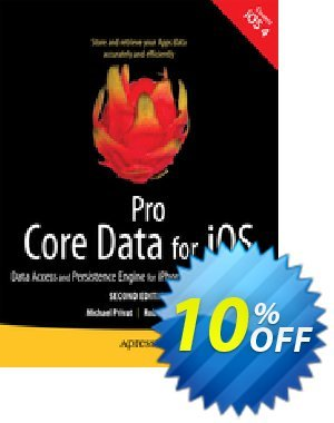 Pro Core Data for iOS, Second Edition (Warner) 프로모션 코드 Pro Core Data for iOS, Second Edition (Warner) Deal 프로모션: Pro Core Data for iOS, Second Edition (Warner) Exclusive Easter Sale offer for iVoicesoft