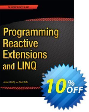 Programming Reactive Extensions and LINQ (Liberty) discount coupon Programming Reactive Extensions and LINQ (Liberty) Deal - Programming Reactive Extensions and LINQ (Liberty) Exclusive Easter Sale offer for iVoicesoft