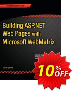 Building ASP.NET Web Pages with Microsoft WebMatrix (Lydford) discount coupon Building ASP.NET Web Pages with Microsoft WebMatrix (Lydford) Deal - Building ASP.NET Web Pages with Microsoft WebMatrix (Lydford) Exclusive Easter Sale offer for iVoicesoft
