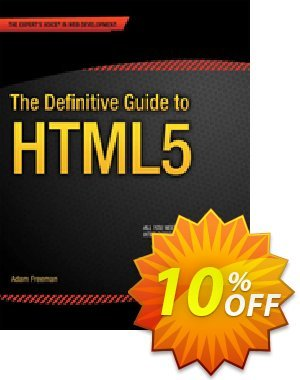 The Definitive Guide to HTML5 (Freeman) 優惠券,折扣碼 The Definitive Guide to HTML5 (Freeman) Deal,促銷代碼: The Definitive Guide to HTML5 (Freeman) Exclusive Easter Sale offer for iVoicesoft
