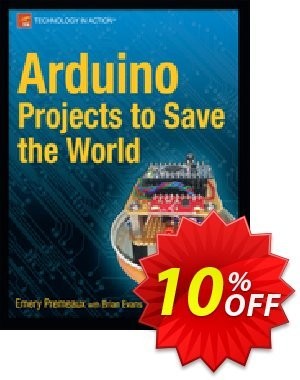 Arduino Projects to Save the World (Premeaux) 優惠券,折扣碼 Arduino Projects to Save the World (Premeaux) Deal,促銷代碼: Arduino Projects to Save the World (Premeaux) Exclusive Easter Sale offer for iVoicesoft