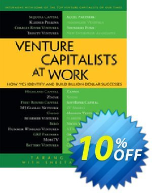 Venture Capitalists at Work (Shah) discount coupon Venture Capitalists at Work (Shah) Deal - Venture Capitalists at Work (Shah) Exclusive Easter Sale offer for iVoicesoft