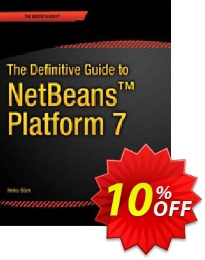 The Definitive Guide to NetBeans™ Platform 7 (Bck) discount coupon The Definitive Guide to NetBeans™ Platform 7 (Bck) Deal - The Definitive Guide to NetBeans™ Platform 7 (Bck) Exclusive Easter Sale offer for iVoicesoft