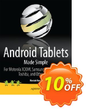 Android Tablets Made Simple (Karch) discount coupon Android Tablets Made Simple (Karch) Deal - Android Tablets Made Simple (Karch) Exclusive Easter Sale offer for iVoicesoft