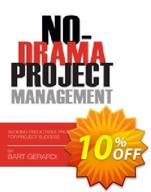 No-Drama Project Management (Gerardi) discount coupon No-Drama Project Management (Gerardi) Deal - No-Drama Project Management (Gerardi) Exclusive Easter Sale offer for iVoicesoft