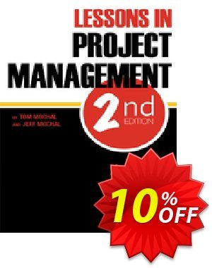 Lessons in Project Management (Mochal) Coupon discount Lessons in Project Management (Mochal) Deal. Promotion: Lessons in Project Management (Mochal) Exclusive Easter Sale offer for iVoicesoft