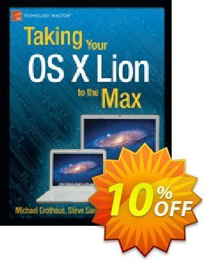 Taking Your OS X Lion to the Max (Sande) discount coupon Taking Your OS X Lion to the Max (Sande) Deal - Taking Your OS X Lion to the Max (Sande) Exclusive Easter Sale offer for iVoicesoft