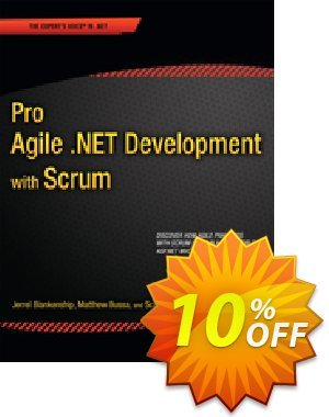 Pro Agile .NET Development with SCRUM (Millett) discount coupon Pro Agile .NET Development with SCRUM (Millett) Deal - Pro Agile .NET Development with SCRUM (Millett) Exclusive Easter Sale offer for iVoicesoft
