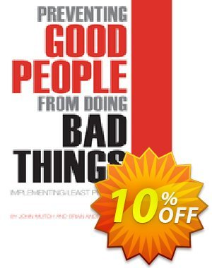 Preventing Good People From Doing Bad Things (Anderson) discount coupon Preventing Good People From Doing Bad Things (Anderson) Deal - Preventing Good People From Doing Bad Things (Anderson) Exclusive Easter Sale offer for iVoicesoft