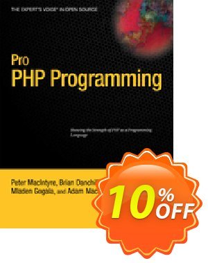 Pro PHP Programming (Gogala) Coupon discount Pro PHP Programming (Gogala) Deal. Promotion: Pro PHP Programming (Gogala) Exclusive Easter Sale offer for iVoicesoft