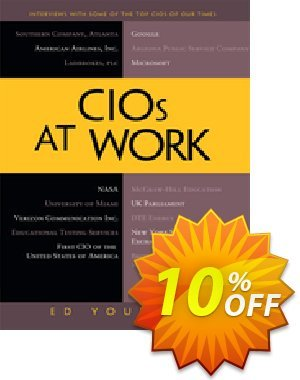 CIOs at Work (Yourdon) discount coupon CIOs at Work (Yourdon) Deal - CIOs at Work (Yourdon) Exclusive Easter Sale offer for iVoicesoft