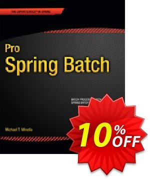 Pro Spring Batch (Minella) 優惠券,折扣碼 Pro Spring Batch (Minella) Deal,促銷代碼: Pro Spring Batch (Minella) Exclusive Easter Sale offer for iVoicesoft