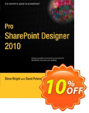 Pro SharePoint Designer 2010 (Wright) discount coupon Pro SharePoint Designer 2010 (Wright) Deal - Pro SharePoint Designer 2010 (Wright) Exclusive Easter Sale offer for iVoicesoft