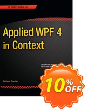 Applied WPF 4 in Context (Garofalo) 프로모션 코드 Applied WPF 4 in Context (Garofalo) Deal 프로모션: Applied WPF 4 in Context (Garofalo) Exclusive Easter Sale offer for iVoicesoft