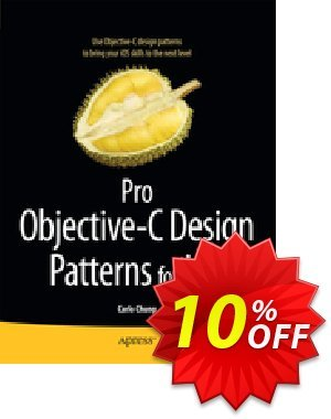 Pro Objective-C Design Patterns for iOS (Chung) discount coupon Pro Objective-C Design Patterns for iOS (Chung) Deal - Pro Objective-C Design Patterns for iOS (Chung) Exclusive Easter Sale offer for iVoicesoft
