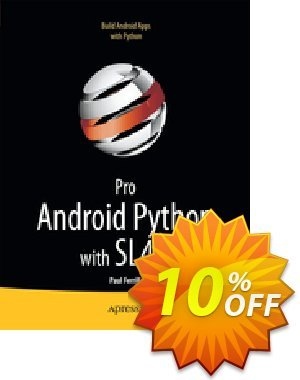 Pro Android Python with SL4A (Ferrill) Gutschein rabatt Pro Android Python with SL4A (Ferrill) Deal Aktion: Pro Android Python with SL4A (Ferrill) Exclusive Easter Sale offer for iVoicesoft