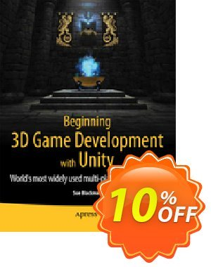 Beginning 3D Game Development with Unity (Blackman) discount coupon Beginning 3D Game Development with Unity (Blackman) Deal - Beginning 3D Game Development with Unity (Blackman) Exclusive Easter Sale offer for iVoicesoft