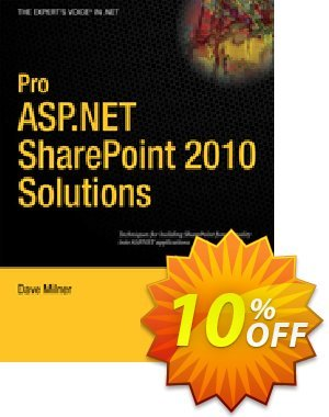 Pro ASP.NET SharePoint 2010 Solutions (Milner) 프로모션 코드 Pro ASP.NET SharePoint 2010 Solutions (Milner) Deal 프로모션: Pro ASP.NET SharePoint 2010 Solutions (Milner) Exclusive Easter Sale offer for iVoicesoft