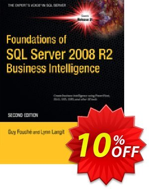 Foundations of SQL Server 2008 R2 Business Intelligence (Fouche) discount coupon Foundations of SQL Server 2008 R2 Business Intelligence (Fouche) Deal - Foundations of SQL Server 2008 R2 Business Intelligence (Fouche) Exclusive Easter Sale offer for iVoicesoft