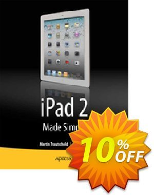 iPad 2 Made Simple (Trautschold) 프로모션 코드 iPad 2 Made Simple (Trautschold) Deal 프로모션: iPad 2 Made Simple (Trautschold) Exclusive Easter Sale offer for iVoicesoft