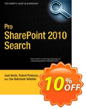 Pro SharePoint 2010 Search (Noble) discount coupon Pro SharePoint 2010 Search (Noble) Deal - Pro SharePoint 2010 Search (Noble) Exclusive Easter Sale offer for iVoicesoft