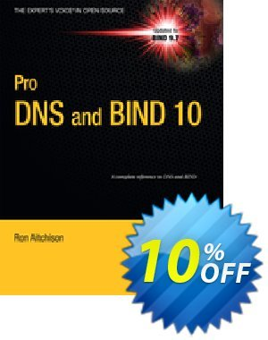 Pro DNS and BIND 10 (Aitchison) discount coupon Pro DNS and BIND 10 (Aitchison) Deal - Pro DNS and BIND 10 (Aitchison) Exclusive Easter Sale offer for iVoicesoft