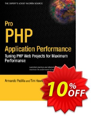 Pro PHP Application Performance (Padilla) 優惠券,折扣碼 Pro PHP Application Performance (Padilla) Deal,促銷代碼: Pro PHP Application Performance (Padilla) Exclusive Easter Sale offer for iVoicesoft