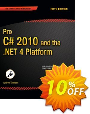 Pro C# 2010 and the .NET 4 Platform (Troelsen) discount coupon Pro C# 2010 and the .NET 4 Platform (Troelsen) Deal - Pro C# 2010 and the .NET 4 Platform (Troelsen) Exclusive Easter Sale offer for iVoicesoft