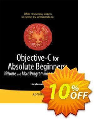 Objective-C for Absolute Beginners (Bennett) discount coupon Objective-C for Absolute Beginners (Bennett) Deal - Objective-C for Absolute Beginners (Bennett) Exclusive Easter Sale offer for iVoicesoft