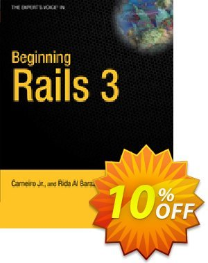 Beginning Rails 3 (Al Barazi) discount coupon Beginning Rails 3 (Al Barazi) Deal - Beginning Rails 3 (Al Barazi) Exclusive Easter Sale offer for iVoicesoft