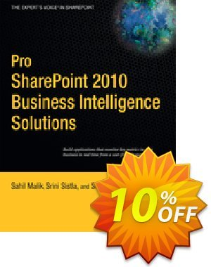 Pro SharePoint 2010 Business Intelligence Solutions (Malik) 프로모션 코드 Pro SharePoint 2010 Business Intelligence Solutions (Malik) Deal 프로모션: Pro SharePoint 2010 Business Intelligence Solutions (Malik) Exclusive Easter Sale offer for iVoicesoft