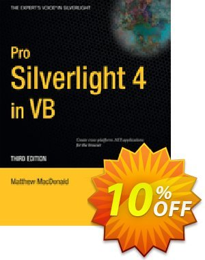 Pro Silverlight 4 in VB (MacDonald) 프로모션 코드 Pro Silverlight 4 in VB (MacDonald) Deal 프로모션: Pro Silverlight 4 in VB (MacDonald) Exclusive Easter Sale offer for iVoicesoft