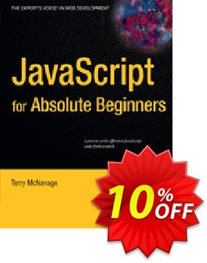 JavaScript for Absolute Beginners (McNavage) discount coupon JavaScript for Absolute Beginners (McNavage) Deal - JavaScript for Absolute Beginners (McNavage) Exclusive Easter Sale offer for iVoicesoft