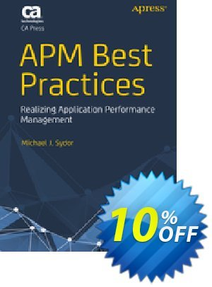 APM Best Practices (Sydor) Coupon discount APM Best Practices (Sydor) Deal. Promotion: APM Best Practices (Sydor) Exclusive Easter Sale offer for iVoicesoft