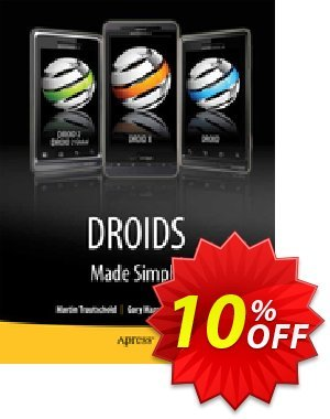 Droids Made Simple (Trautschold) 優惠券,折扣碼 Droids Made Simple (Trautschold) Deal,促銷代碼: Droids Made Simple (Trautschold) Exclusive Easter Sale offer for iVoicesoft