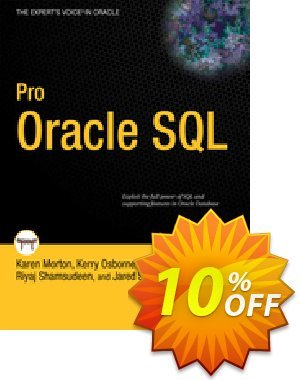 Pro Oracle SQL (Morton) discount coupon Pro Oracle SQL (Morton) Deal - Pro Oracle SQL (Morton) Exclusive Easter Sale offer for iVoicesoft