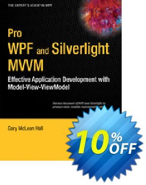 Pro WPF and Silverlight MVVM (Hall) discount coupon Pro WPF and Silverlight MVVM (Hall) Deal - Pro WPF and Silverlight MVVM (Hall) Exclusive Easter Sale offer for iVoicesoft