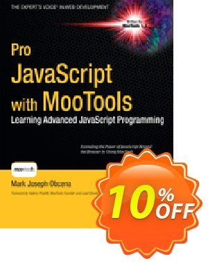 Pro JavaScript with MooTools (Obcena) discount coupon Pro JavaScript with MooTools (Obcena) Deal - Pro JavaScript with MooTools (Obcena) Exclusive Easter Sale offer for iVoicesoft