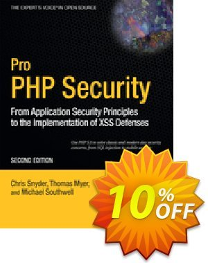 Pro PHP Security (Snyder) discount coupon Pro PHP Security (Snyder) Deal - Pro PHP Security (Snyder) Exclusive Easter Sale offer for iVoicesoft
