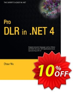 Pro DLR in .NET 4 (Wu) Gutschein rabatt Pro DLR in .NET 4 (Wu) Deal Aktion: Pro DLR in .NET 4 (Wu) Exclusive Easter Sale offer for iVoicesoft