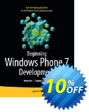 Beginning Windows Phone 7 Development (Lee) discount coupon Beginning Windows Phone 7 Development (Lee) Deal - Beginning Windows Phone 7 Development (Lee) Exclusive Easter Sale offer for iVoicesoft