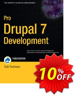 Pro Drupal 7 Development (VanDyk) Coupon discount Pro Drupal 7 Development (VanDyk) Deal. Promotion: Pro Drupal 7 Development (VanDyk) Exclusive Easter Sale offer for iVoicesoft
