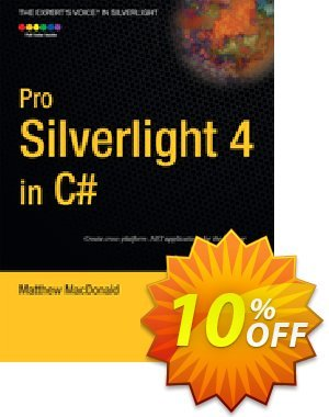 Pro Silverlight 4 in C# (MacDonald) discount coupon Pro Silverlight 4 in C# (MacDonald) Deal - Pro Silverlight 4 in C# (MacDonald) Exclusive Easter Sale offer for iVoicesoft