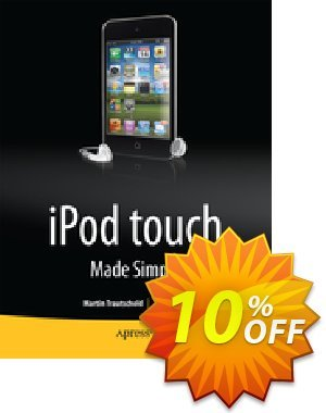 iPod touch Made Simple (Trautschold) Gutschein rabatt iPod touch Made Simple (Trautschold) Deal Aktion: iPod touch Made Simple (Trautschold) Exclusive Easter Sale offer for iVoicesoft