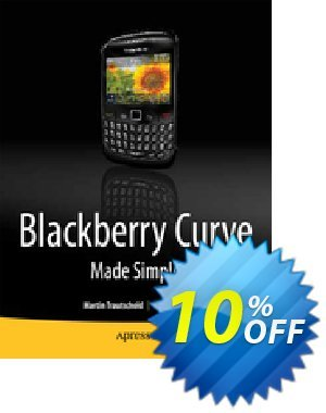 BlackBerry Curve Made Simple (Mazo) discount coupon BlackBerry Curve Made Simple (Mazo) Deal - BlackBerry Curve Made Simple (Mazo) Exclusive Easter Sale offer for iVoicesoft