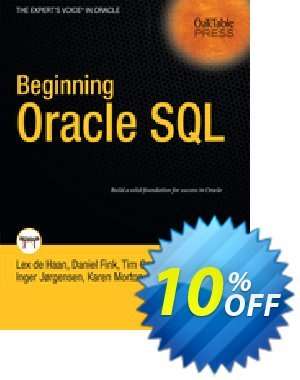 Beginning Oracle SQL (deHaan) 프로모션 코드 Beginning Oracle SQL (deHaan) Deal 프로모션: Beginning Oracle SQL (deHaan) Exclusive Easter Sale offer for iVoicesoft